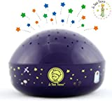 "Le Petit Prince""Touch Active, Easy Clean"" Twilight Constellation Galaxy Round Projector Night Light by Lumitusi"