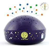 "Le Petit Prince ""Touch Active, Easy Clean"" Twilight Constellation Galaxy Round Projector Night Light by Lumitusi"