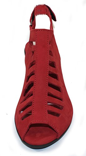 Enexor Van Arche Vrouwen In Feu Nubuck - Rood - Grootte 40 M
