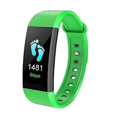 Nowear Smart Wristband Color Screen smart wristband Heart rate IP68 Waterproof Heart Rate Blood Pressure Oxygen Fitness Tracker Bracelet Wristband Estimated Price £10.70 - £14.24