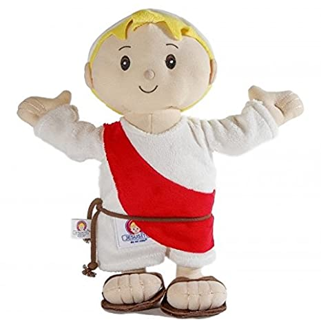 Child Jesus Plush toy 30 cm. - Peluche Jesusito (Ref. 1007b)