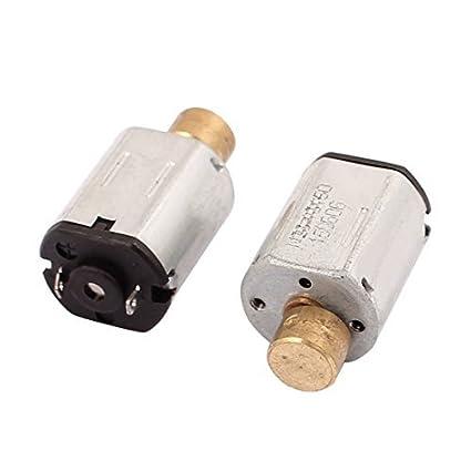 eDealMax 2pcs 3.7V DC 10000RPM grande de par motor micro de la vibración de juguete eléctrico - - Amazon.com