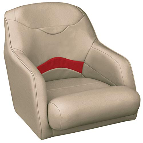 Toonmate Premium Bucket-Style Captain Seat Mocha/Red ()
