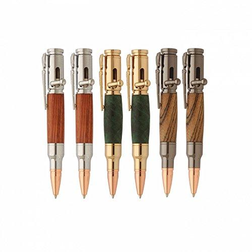 (Penn State Industries PKBAPAK2 Mini Bolt Action Ballpoint Pen Kit Variety Pack Woodturning Project (6pack))