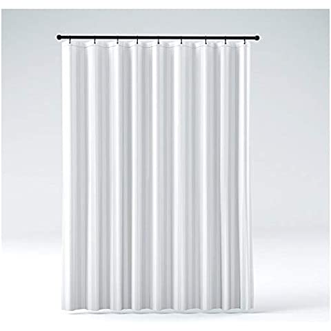 Heavy Duty PEVA Shower Curtain Liner Odorless Anti Mold With Magnets