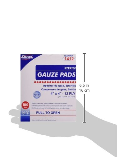 DKL1412 - Dukal Sterile Gauze Pad in the UAE. See prices ...