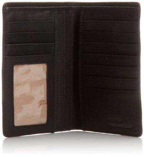 Derek Black Pocket Ns Black Alexander Wallet Size One Travel Breast qCqpfZB