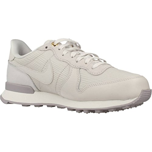 Nike W Internationalist PRM, Zapatillas de Running Para Mujer Gris (Gris Vaste/blanc Sommet/gris Vaste 013)