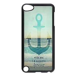 Custom Anchor Back Cover Case for ipod Touch 5 JNIPOD5-366 wangjiang maoyi