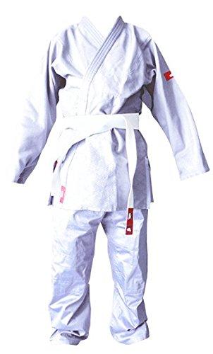 Softee – Judogi Yosihiro – Kimono Judo- 100% ALG. – incl. Halterung weiß weiß Größe 6/190 cm