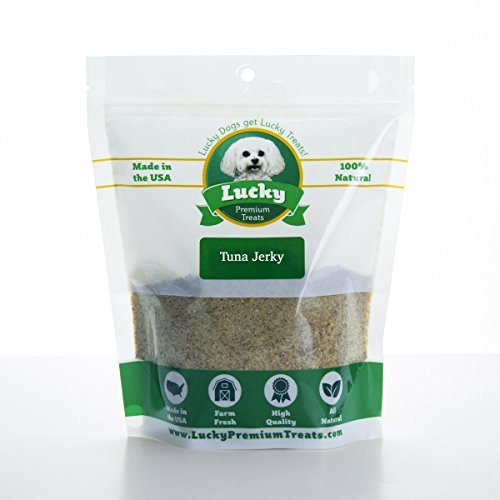 Turkey Jerky Sprinkles Dog Food Topper by Lucky Premium Treats - All-Natural Turkey Jerky Kibble Seasoning Add Flavor to Your Dogs Food Made in The USA