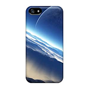 New Hard Cases Premium Iphone 5/5s Skin Cases Covers(outer Space Planets Moon)