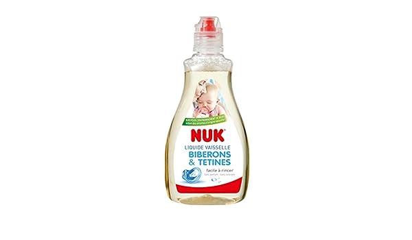 Botellas NUK bebé lavaplatos líquido blanco: Amazon.es: Bebé