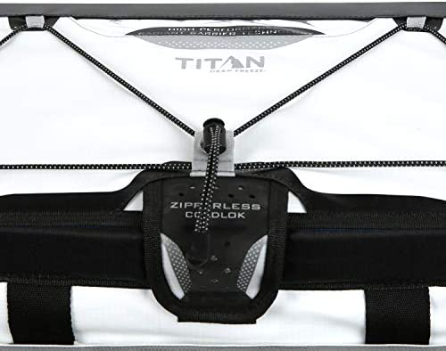 Arctic Zone Titan Deep Freeze Zipperless Hardbody Cooler White California Innovations 1719ILFFFFFF
