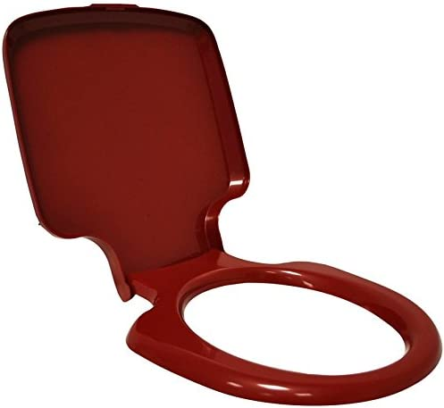 Thetford Porta Potti Qube 145//165//345//365 Toilettensitz mit Deckel rubinrot