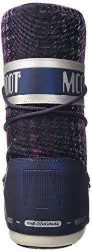 Moon Bottes Blu Argento Boot Multicolore 001 Glam Neige de Femme 11HxFwrq