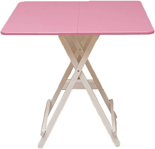 Mesa Plegable para Exteriores Muebles para Mesa de jardín Patio de jardín Madera Maciza Mesa Cuadrada Plegable portátil (Color : C, tamaño : 60x60CM): Amazon.es: Hogar