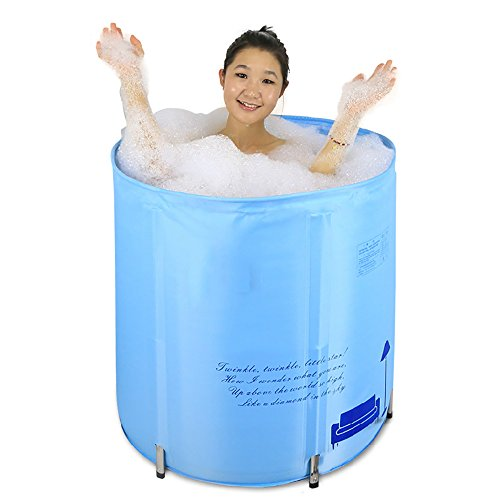 Adjustable Height Folding Tub Adult Bath (70 70cm) by PM YuGang