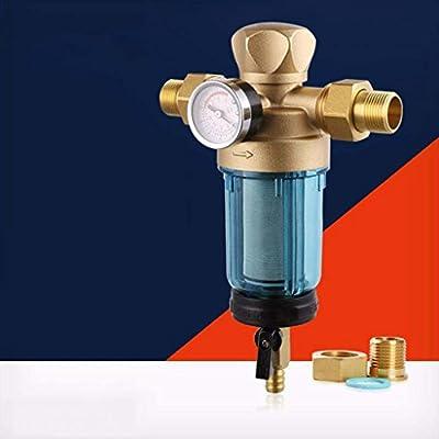 Kaxima Prefiltro, doméstico, con mesa, filtro de agua del grifo, el tipo de válvula, purificador de agua, 15.8x6.3x21cm: Amazon.es: Hogar