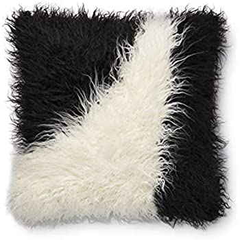 Amazon Com Now House By Jonathan Adler Faux Mongolian Fur