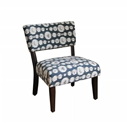 Exceptionnel Large Ikat Gigi Fabric Slipper Chair