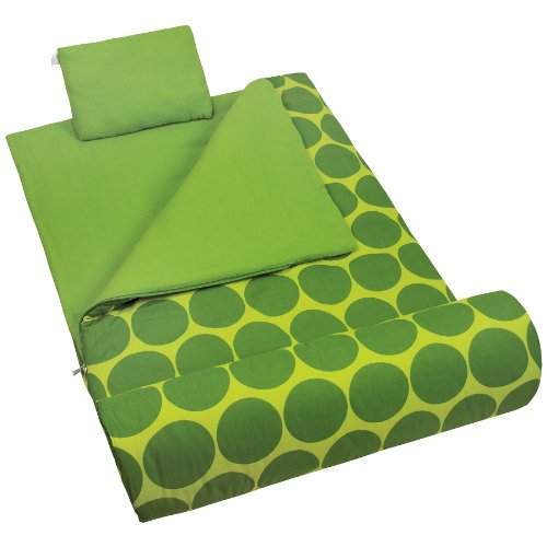 Wildkin Big Dot Green Original Sleeping Bag