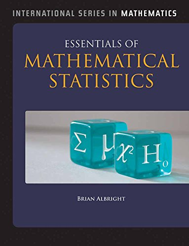 Essentials of Mathematical Statistics (Jones & Bartlett Learning International Series in Mathematics)