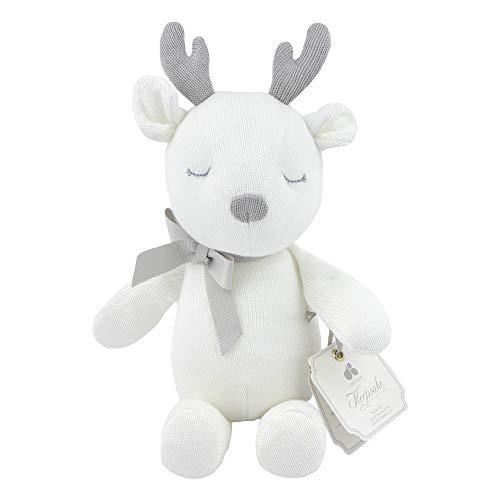 Just Born Keepsake Plush Toy, Ivory Deer, One Size