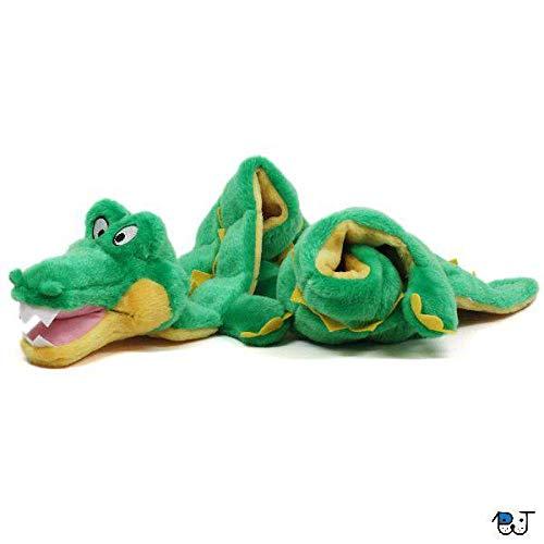 Brinquedo Mega Squeaker Jacaré Gigante para Cães