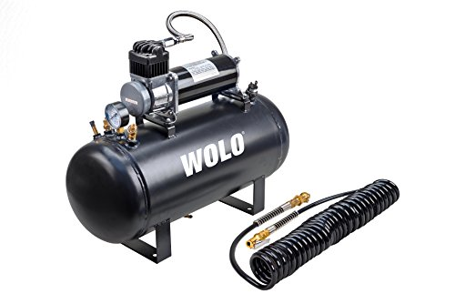 Wolo (860 Air Rage Heavy-Duty Compressor with 5 Gallon Capacity Tank