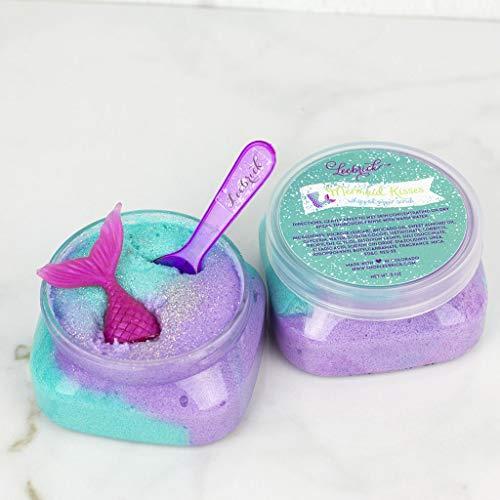 Mermaid Sugar Scrub Spa Gift Birthday Party Favor for Girls
