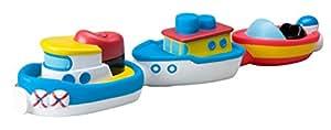 Alex - Pack de 3 barcos magnéticos en la bañera (Juratoys 823W)
