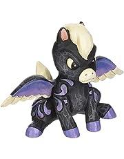 "Disney Traditions by Jim Shore ""Fantasia Pegasus Stone Resin Figurine, 3.1"", 6000960, Multi Color"