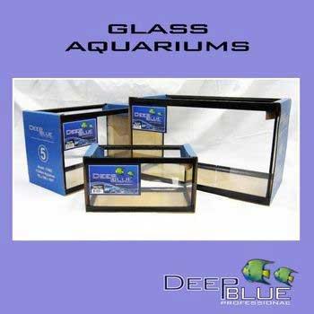 Deep Blue Professional ADB11021 Glass Standard Long Aquarium Tank, 20-Gallon by TopDawg Pet Supply