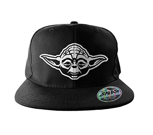 Star Wars Baseball Cap Snapback Cap Yoda Official Black