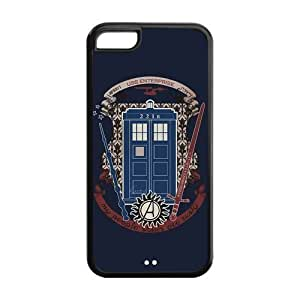 Fork-N8 Design Mystic Zone Sherlock Holmes iPhone 6 4.7'' Back Cover Case for Apple iPhone 6 4.7'' -(Black and White) -MZ6 4.7''00361