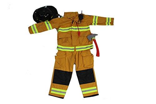 Couples Halloween Costumes Canada (Teetot Authentic Boys Fireman Halloween Costume Firefighter Size 5-6)