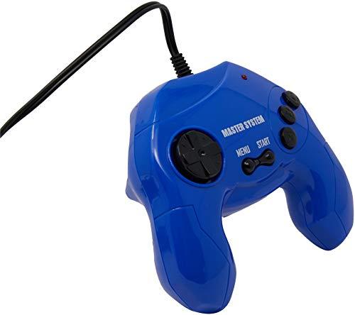 Console Sega Master System Plug & Play com 40 jogos na Memória - Azul