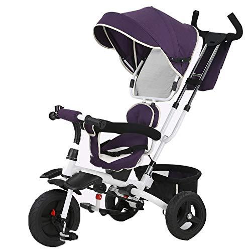 【上品】 YUMEIGE B07QJ61C7H 子ども用自転車 YUMEIGE 子供三輪車子供ペダル自転車付きパラソル1-6年古い積載量25キログラムベビーカー男の子女の子おもちゃの車 利用できるサイズ B07QJ61C7H, リトルプリンセス:e39f7312 --- arianechie.dominiotemporario.com