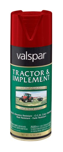 - Valspar 5339-01 IH Red Tractor and Implement Spray Paint - 12 oz.