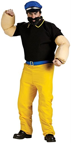 Brutus Adult Costume (Popeye Arms Costume)