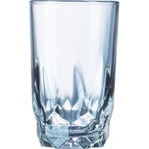 Cardinal Juice Glass, 6 Oz., 3-3/4'' High, Fully Tempered, Arcoroc (Fully Tempered Arcoroc Glass)