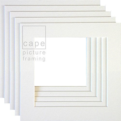 Picture Mounts Outer Size 15 x 15 Options Pack Quantity Image Size Colour