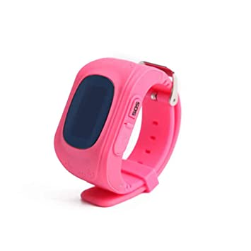Republe LBS Llamadas de Q50 niños Posicionamiento SOS Relojes Inteligentes LCD para iOS Android: Amazon.es: Electrónica