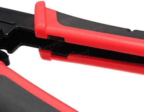 プライヤーツールプライヤーCAT5e / 6 RJ 45/12/11 22プロフェッショナルネットワークワイヤーストリッパープライヤークリンパツール多機能ツール