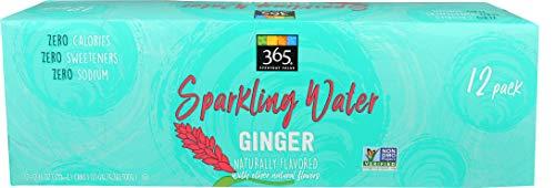 365 Everyday Value Sparkling Water Ginger, 12 fl oz
