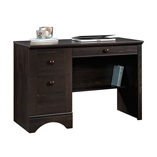 Sauder 418942 Harbor View Computer Desk, Antiqued Paint Finish -