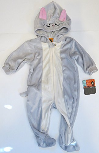 Gray Mouse or Cat Halloween Costume dress up infant 9 months]()