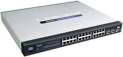 Cisco SRW2024 24-port Gigabit Switch - WebView