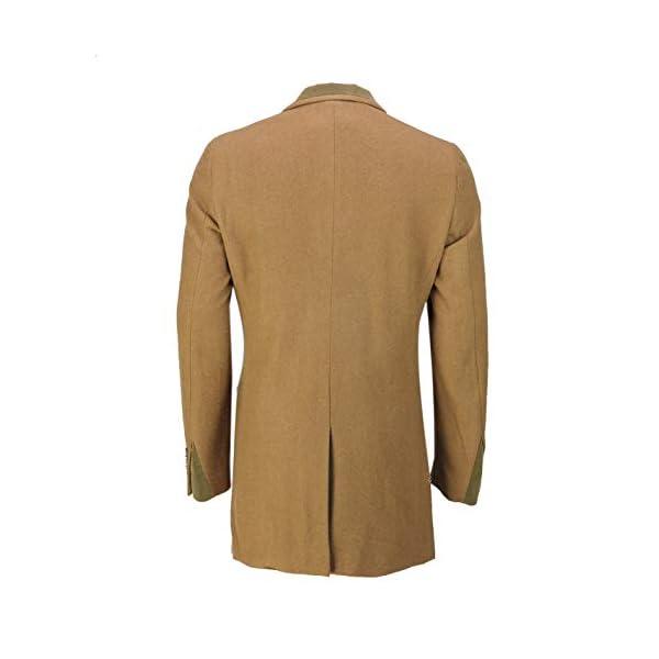 Xposed Manteau 3/4 rétro pour homme Mélange de laine